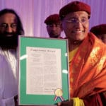 Buddhist leader Gyalwang Drukpa recognized by US congress for empowering women