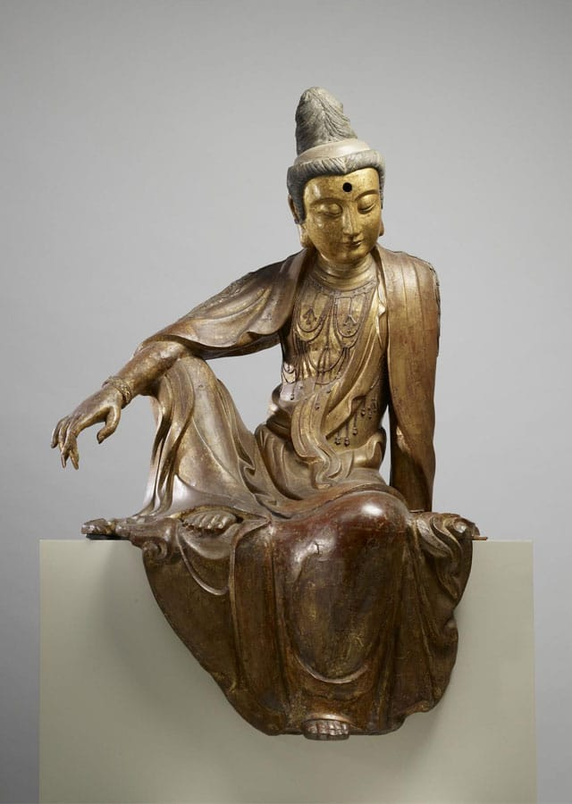 """""""Chinese - Seated Guanyin (Kuan-yin) Bodhisattva - Walters 25256 (2)""""- Walters Art Museum. Licensed under Public domain via Public domain."""
