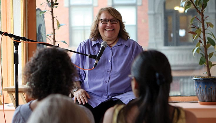 Sharon Salzberg. Photo by Fabio Fillipi.