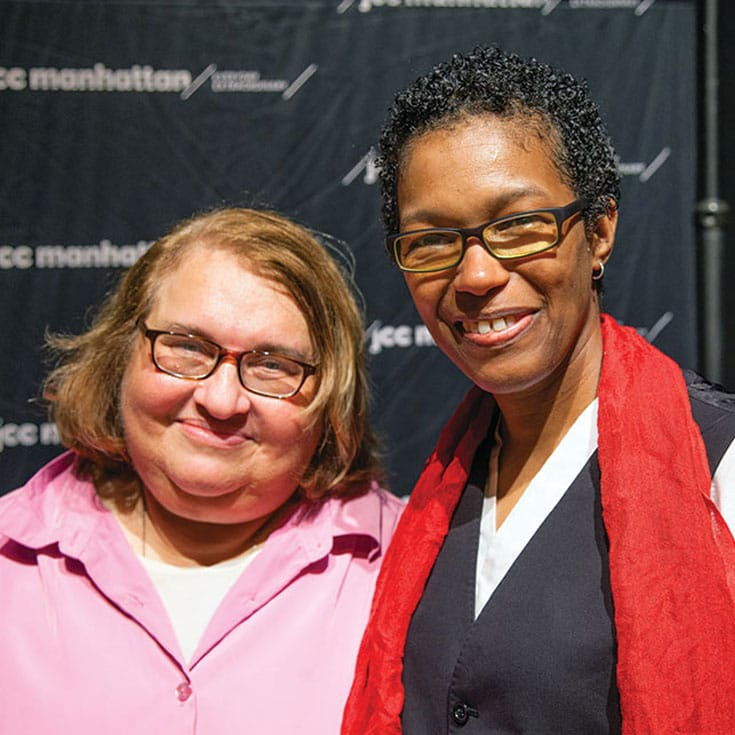 Sharon Salzberg (left) and Rev. angel Kyodo williams (right). Photo by Christine Alicino.