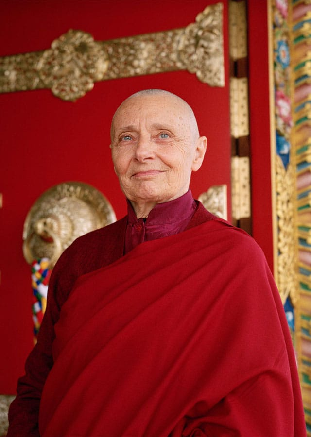 Tenzin Palmo. Photo by Olivier Adam.