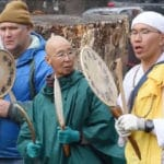 "Buddhist nun leads ""Water Walk for Life"" in protest of the Pilgrim Pipeline"