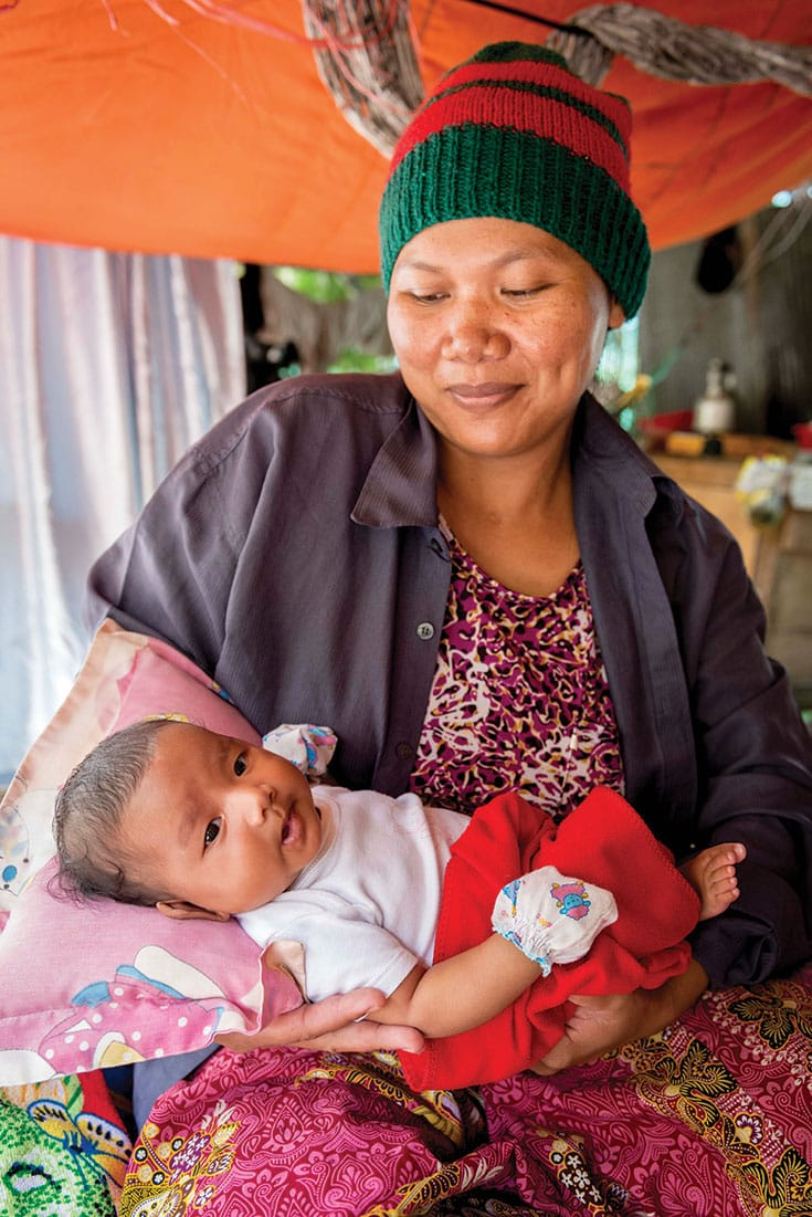 The CCF Maternal Care program has assisted 1000 births without a death. The maternal mortaility rate used to be 6–7%.