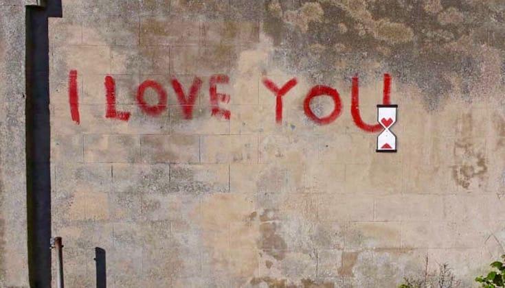I Love You Banksy.