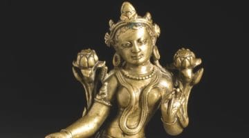 Statue of the deity tara.