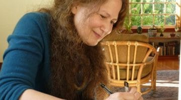 Jane Hirshfield. Photo by Adam Phillips. (Public domain.)