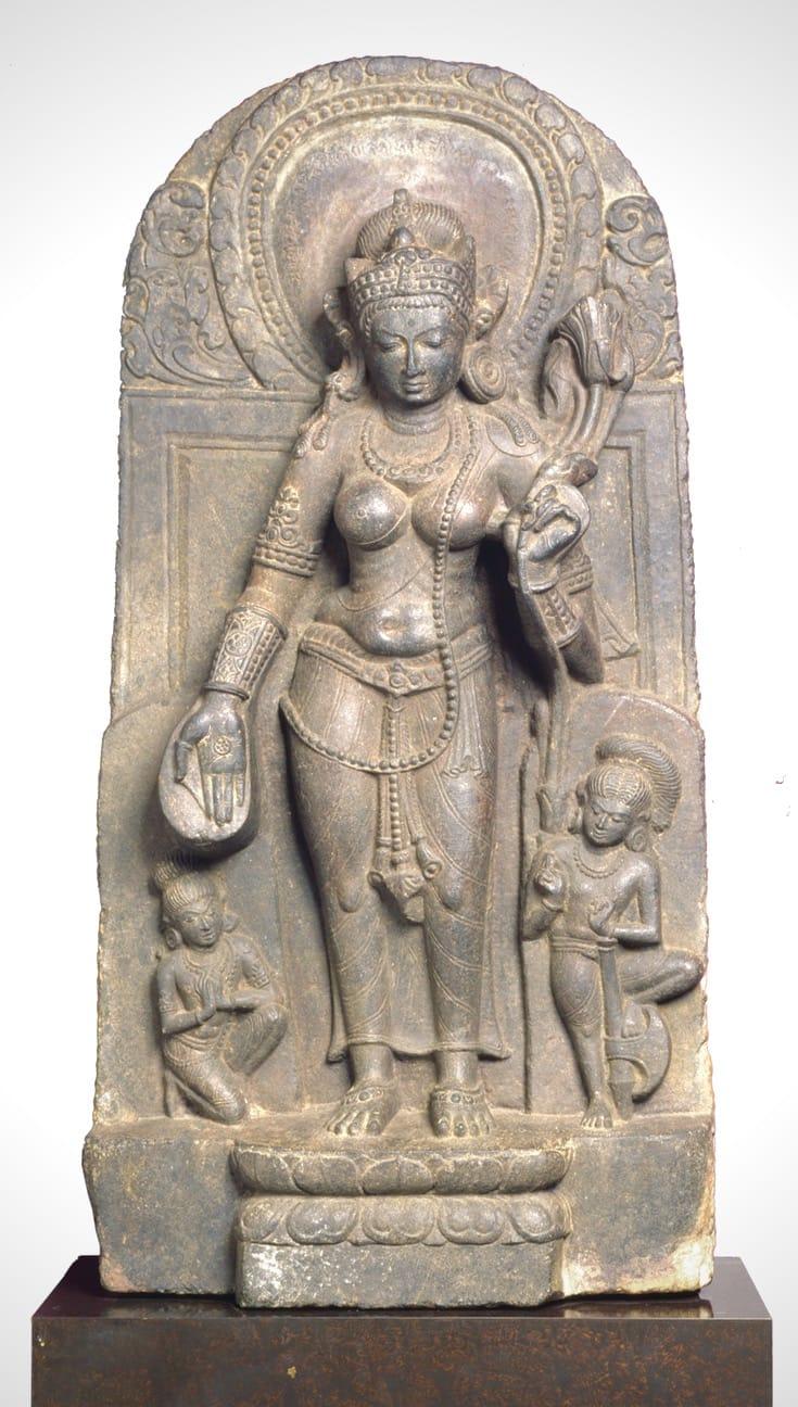 Statue of Tara.