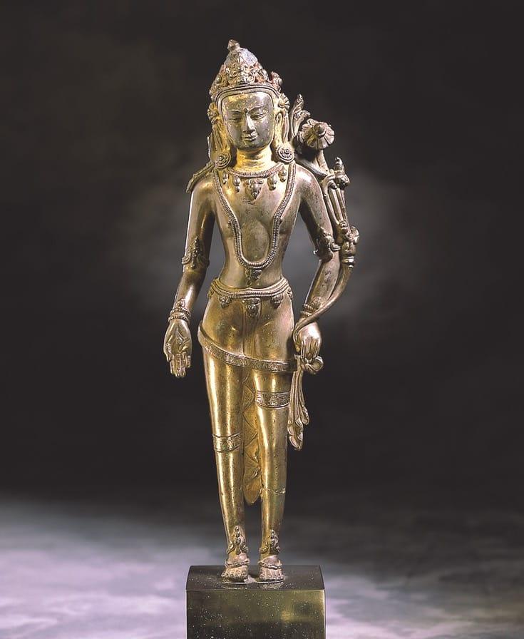Statue of the Bodhisattva Avalokiteshvara.
