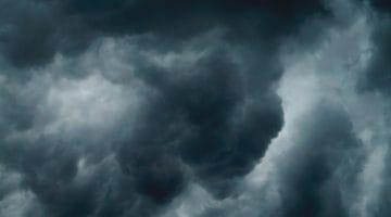 Evil clouds.