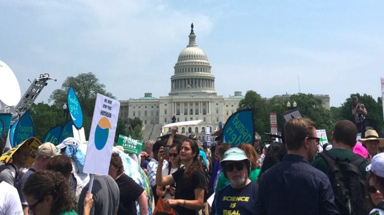 Buddhists Roll On Together to the People's Climate March