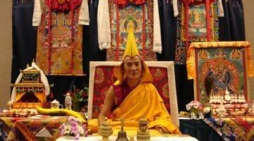 Kyabje Jetsun Lobsang Tenzin Rinpoche, via Tibet.net.