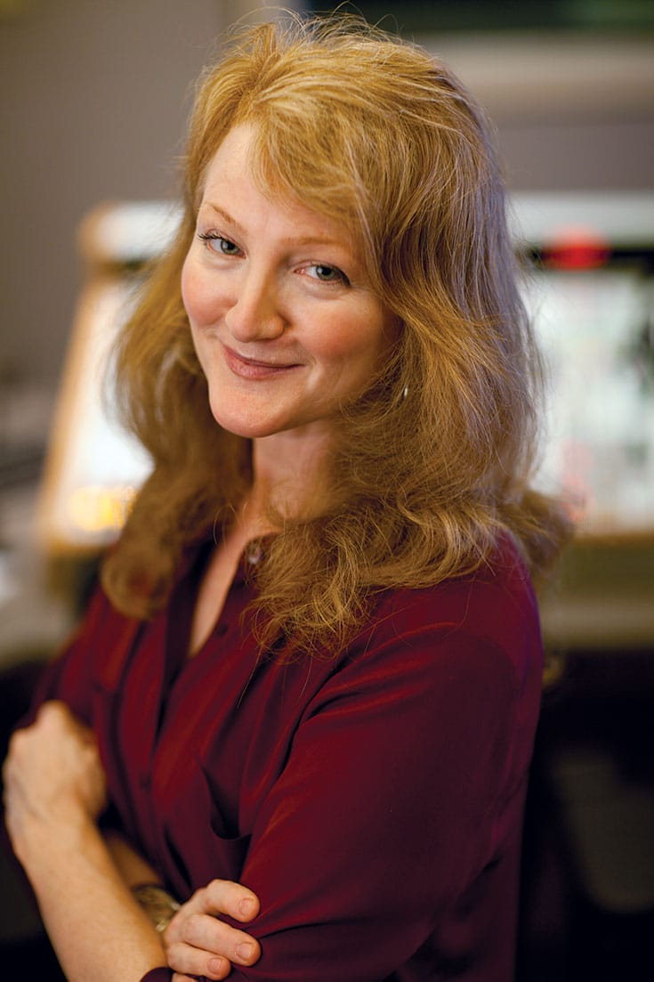 Krista Tippett. Photo by Peter Beck.