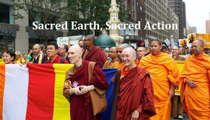 Photo via One Earth Sangha on Facebook.