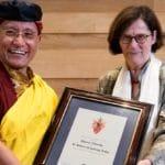 Gyalwang Drukpa, head of Drukpa school of Buddhism, receives honorary Oxford fellowship