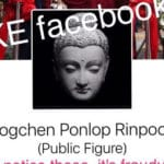 Beware of donation-seeking Facebook pages impersonating Buddhist teachers