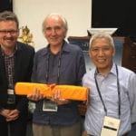 Translators recognized as Santaraksita Awards are given at Tsadra Translation and Transmission conference