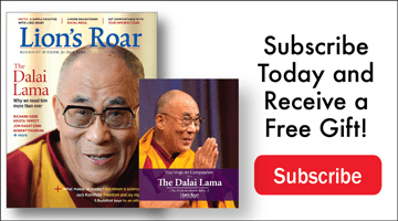 Lion's Roar subscription ad