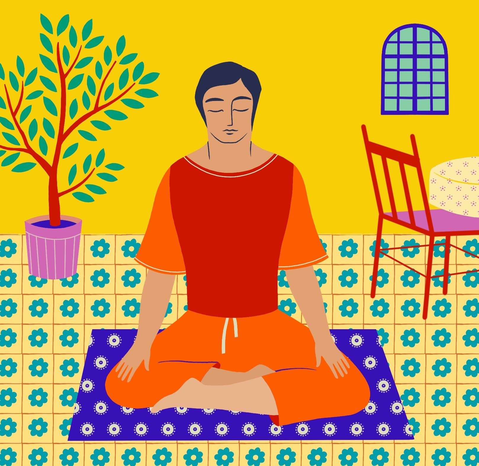 Watch How to Formally Sit in Shamatha Meditation video