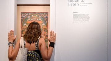 Touching Sound: A visit to the Rubin Museum's thrilling new exhibit