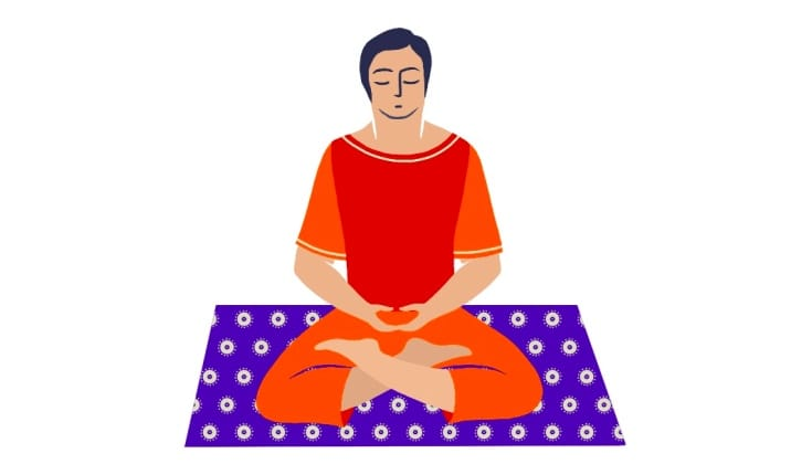 calm abiding meditation instructions