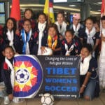 Tibetan women's soccer team becomes first female Tibetan sports team to play in international match
