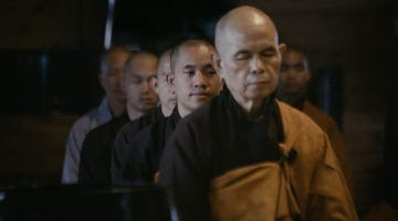 "Watch exclusive clips from the Cumberbatch-narrated Thich Nhat Hanh documentary, ""Walk With Me"""