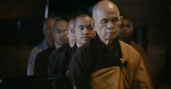 """Watch exclusive clips from the Cumberbatch-narrated Thich Nhat Hanh documentary, """"Walk With Me"""""""