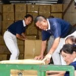Buddhist organization Tzu Chi distributing humanitarian relief in Houston after Hurricane Harvey