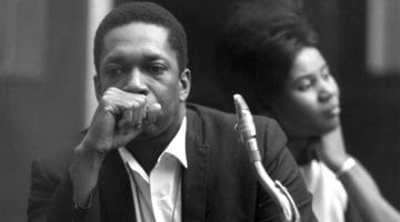 John and Alice Coltrane.