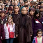 Thich Nhat Hanh's monastic community to hold silent peace walk in Los Angeles