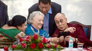 Dalai Lama phone.