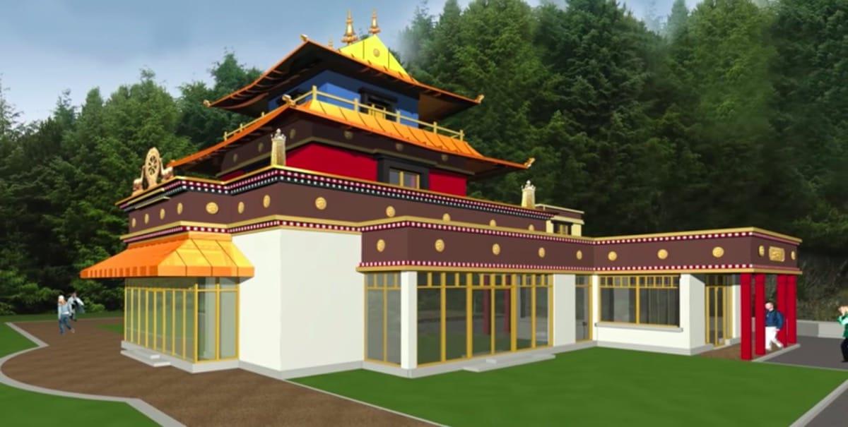 Meditaiton temple.