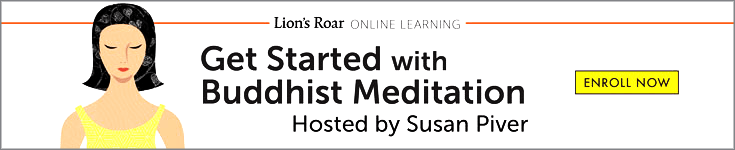 Get Started with Buddhist Meditation Ad