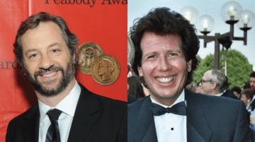 Judd Apatow and Garry Shandling.