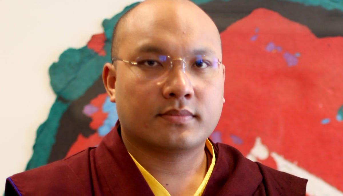 The Karmapa, Ogyen Trinley Dorje.
