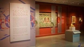 Opening of Rubin exhibition, The Second Buddha: Master of Time