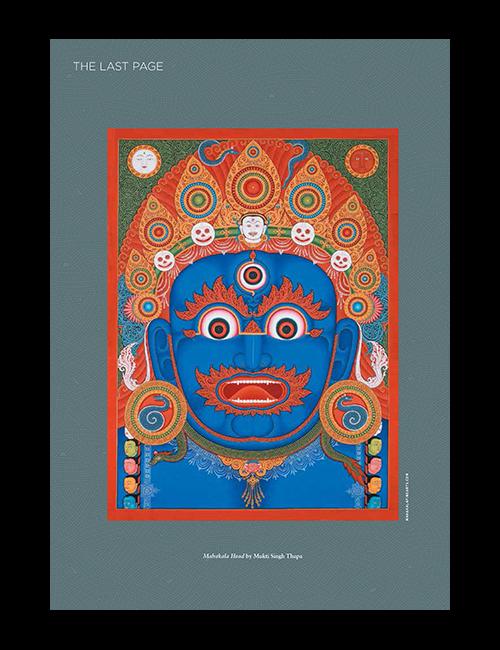 Mahakala art in Buddhadharma.