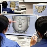 Japanese students prevent Buddhist statue theft by creating 3D-printed copies