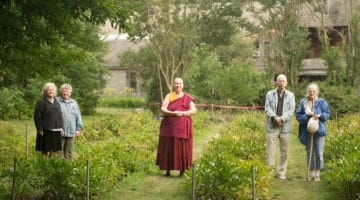 Buddhist nunnery brings meditation outdoors in Portland, Maine