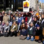 Buddhists supporting March for Our Lives share their photos and messages