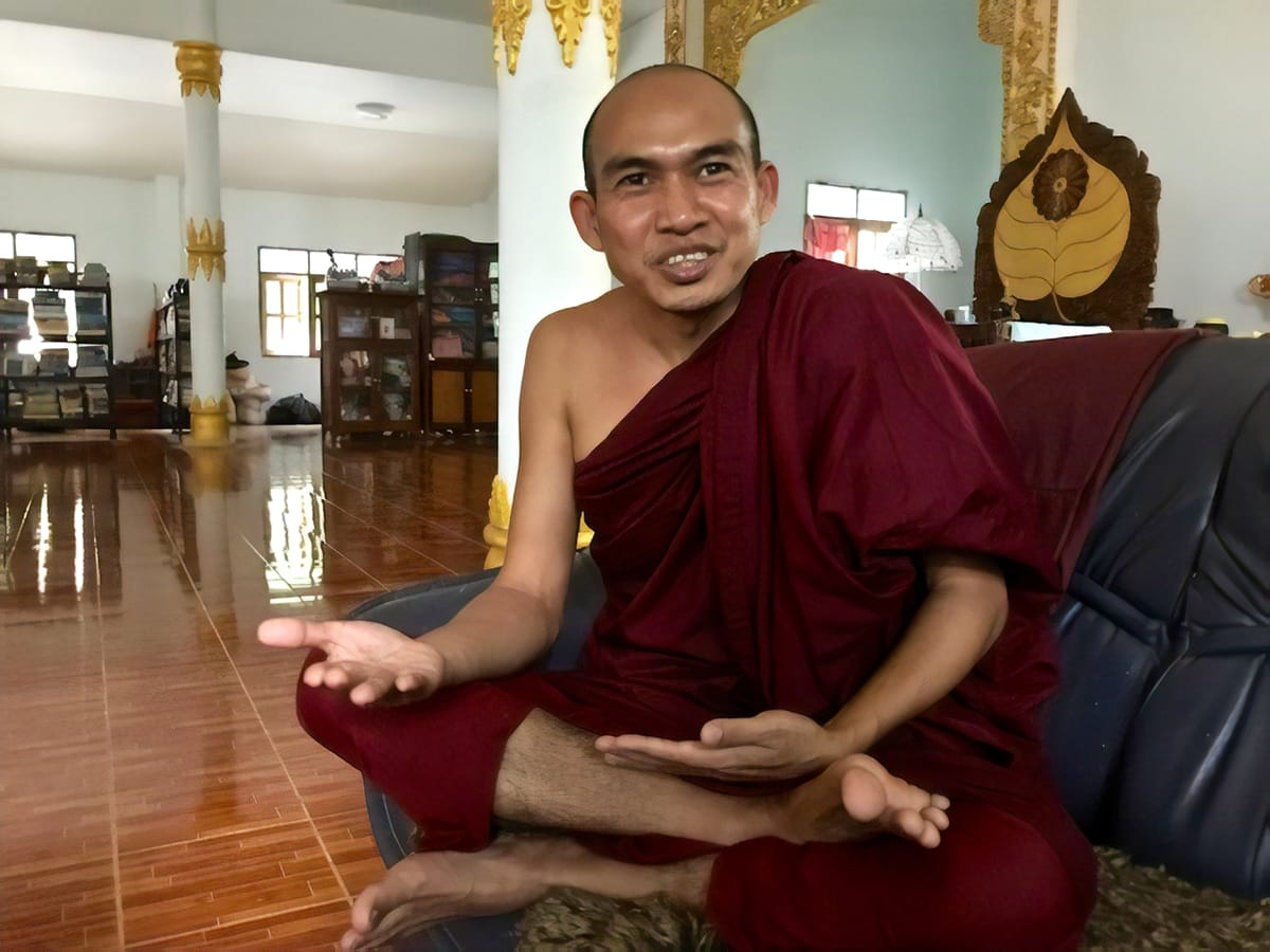 Buddhist monk Ashin Issariya.