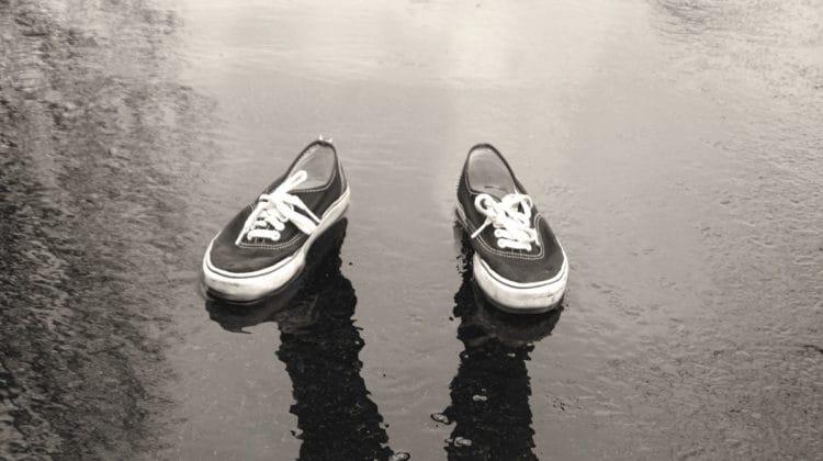 Photo of shoes by Jessica May Rita Kohut.
