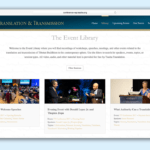 Tsadra Foundation launches online library of translation and transmission conference recordings