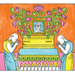 What happens at a Buddhist funeral?