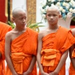 Thai boys rescued from cave ordain as Buddhist monks
