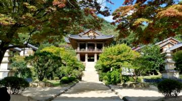 Temple entryway.