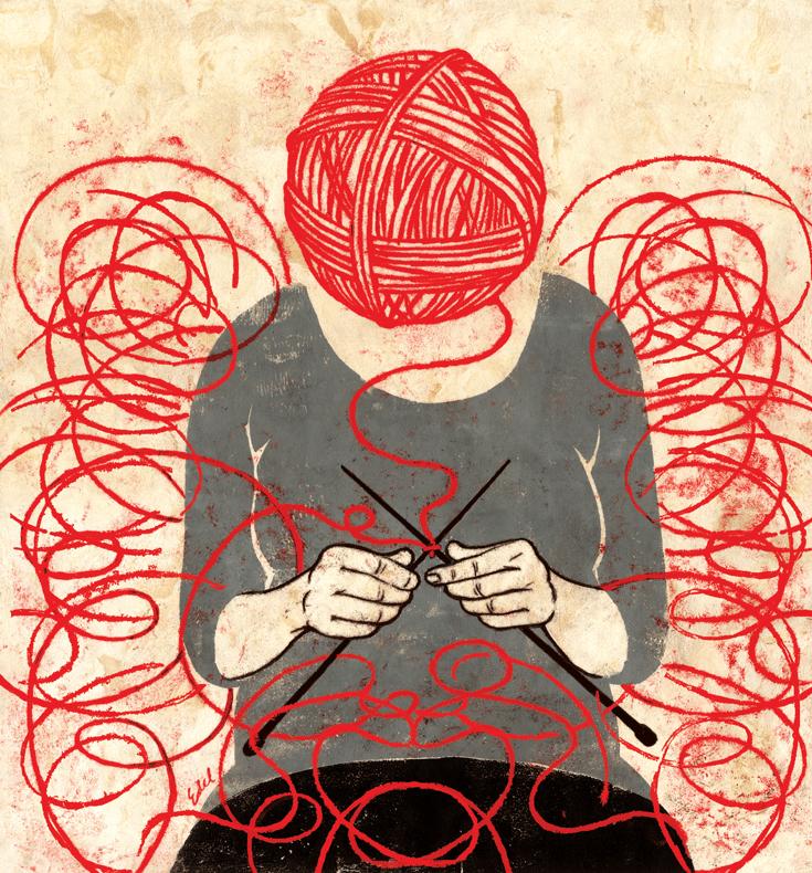 Zen Mind Knitting Mind Lion S Roar