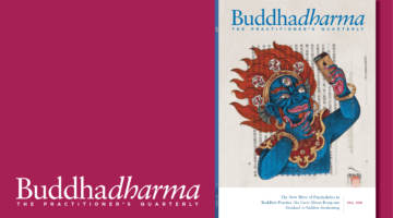 Inside the Fall 2018 issue of Buddhadharma: The Practitioner's Quarterly