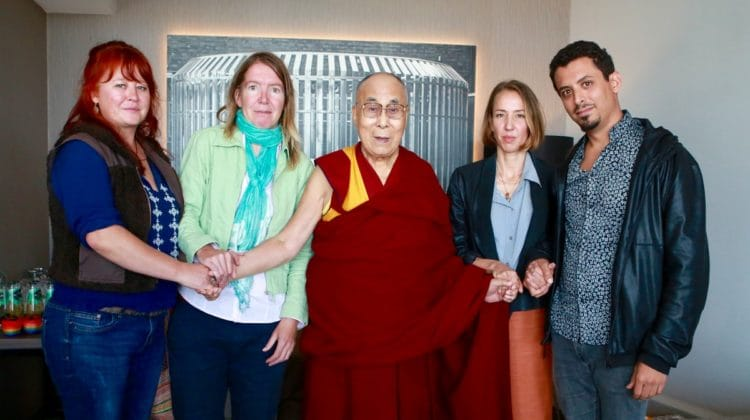 Dalai Lama meets with survivors of abuse by Buddhist teachers