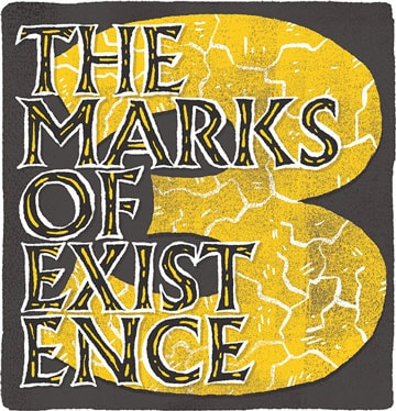 3 marks of existence graphic